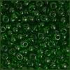 Seedbead 2/0 Transparent Medium Green